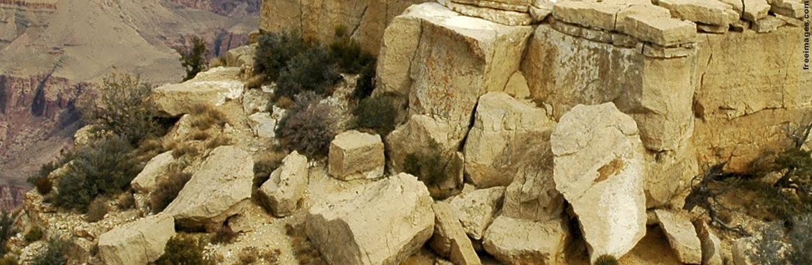 Foto para ilustrar o curso de Engenharia Geológica