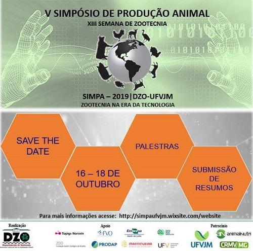 5 Simpósio de Produção Animal - 2019
