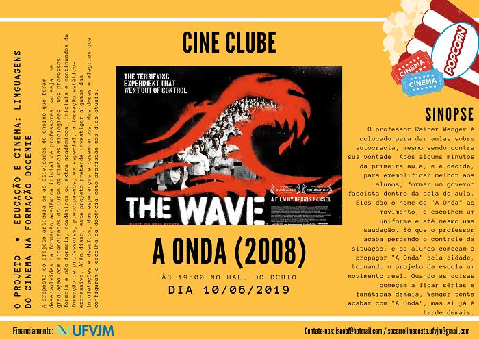 Cine Clube - filme A Onda.