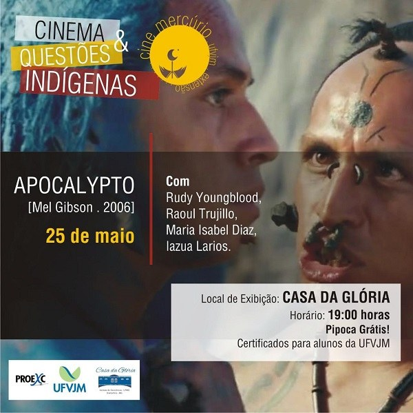 Cine Mercúrio - filme Apocalypto