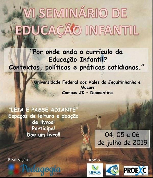 VI Seminário de Educação Infantil