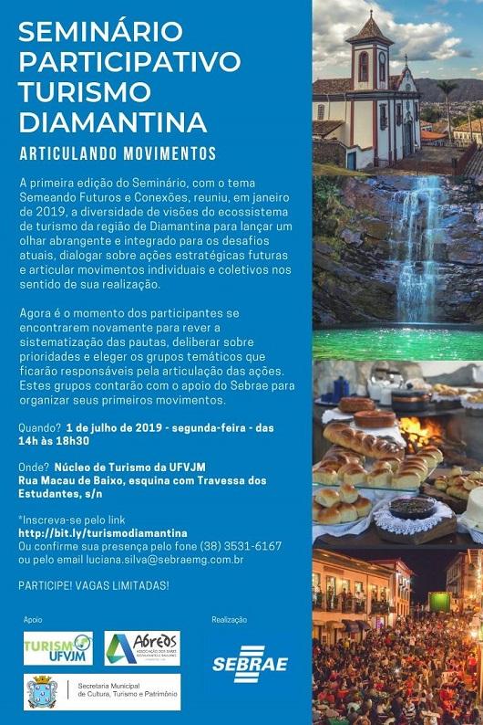 2ª edição do Seminário Participativo Turismo Diamantina