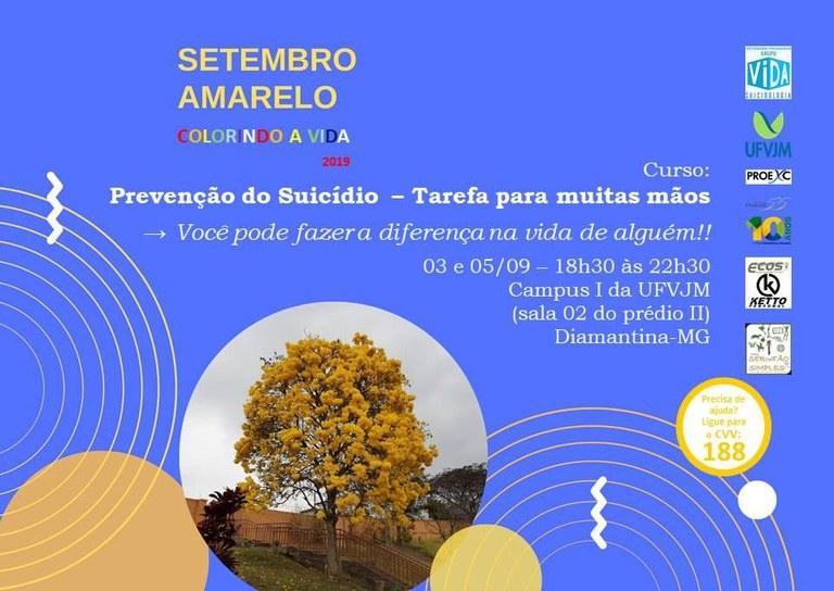 Curso de prevenção de suicídio