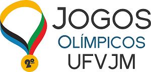 Logo Jogos Olímpicos UFVJM
