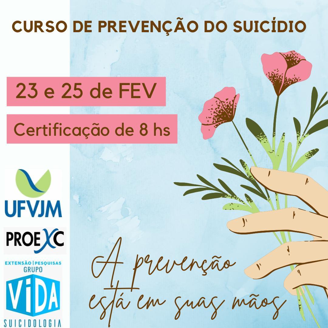 Curso de prevenção ao suicídio