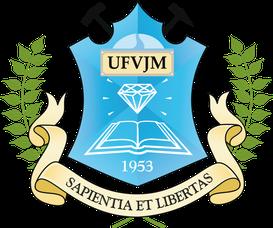 Brasão componente da identidade visual da UFVJM