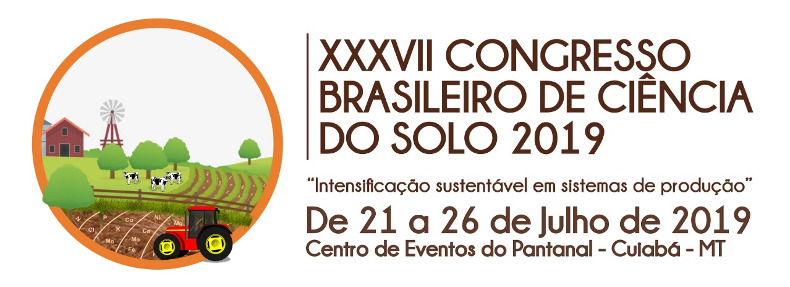Logo Congresso Brasileiro de Ciência do Solo