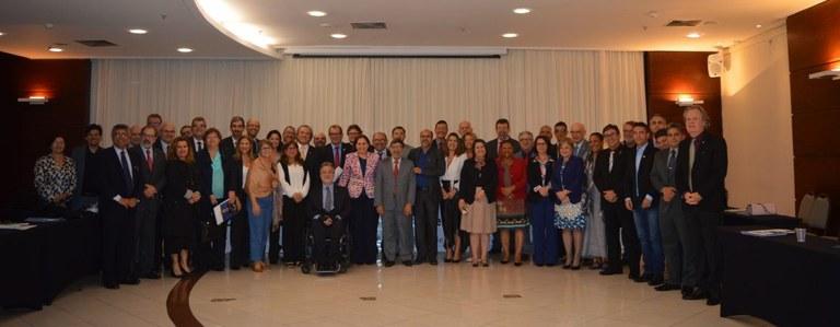 Reitores e reitoras presentes na Reunião Ordinária do Conselho Pleno da Andifes