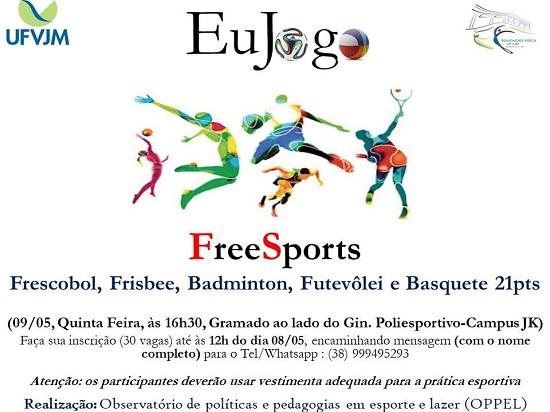 Observatório de Políticas e Pedagogias em Esporte e Lazer realiza vivência de FreeSports