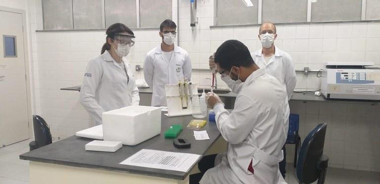 Coronavírus - Laboratório de testes da UFVJM é parceiro da Central de Transplantes