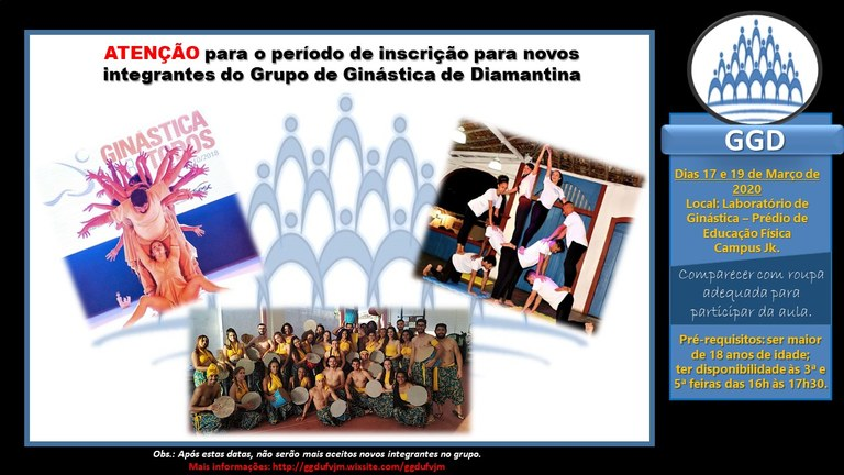 GGD - Grupo de Ginástica de Diamantina