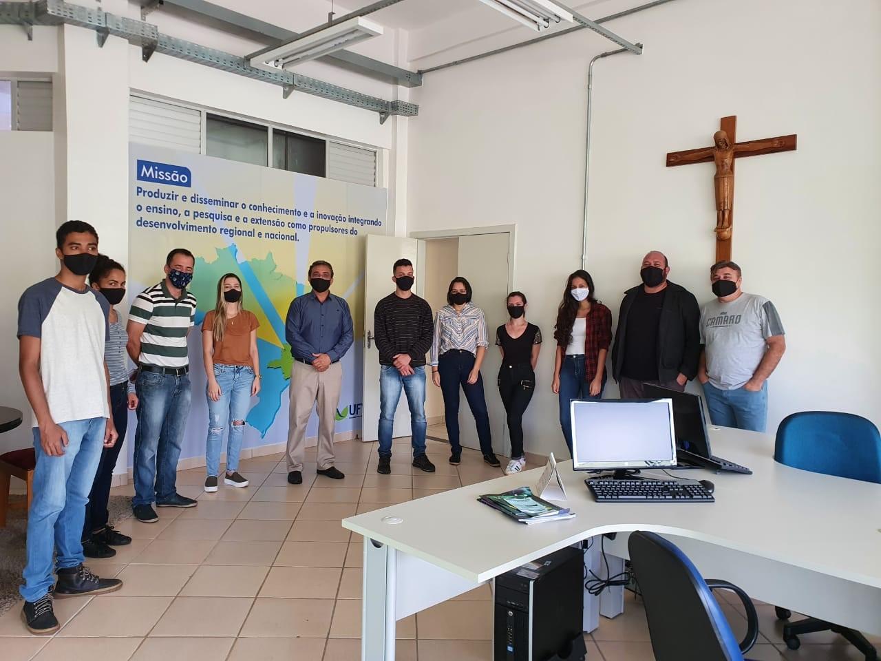 Equipe do projeto Prateleira de Projetos da UFVJM