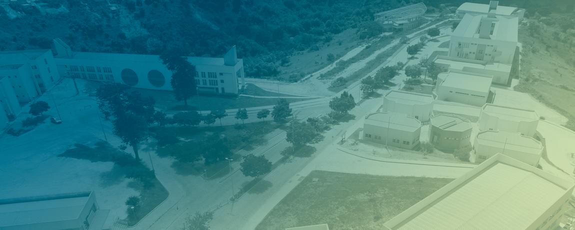 Imagem aérea do Campus do Mucuri
