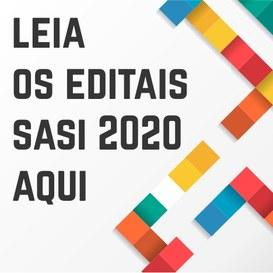 Leia os editais Sasi 2020 em http://www.ufvjm.edu.br/copese/component/content/article/46-processo-seletivos/511-sasi-2020.html