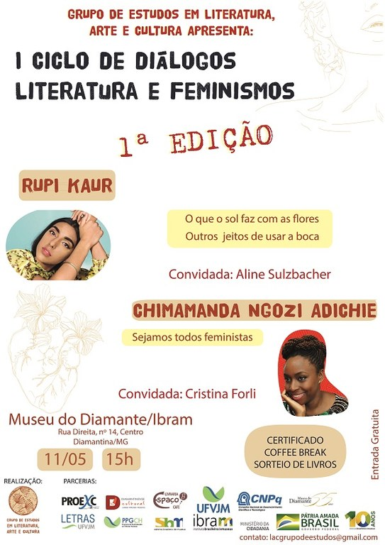 1º Ciclo de Diálogos Literatura e Feminismos