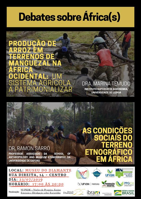 Cartaz Debate sobre África(s)