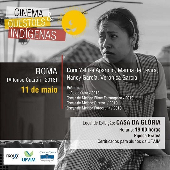 Cinema e Questões Indígenas no Cine Mercúrio