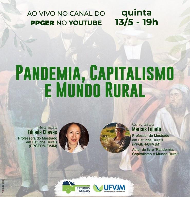 livro Pandemia, Capitalismo e Mundo Rural