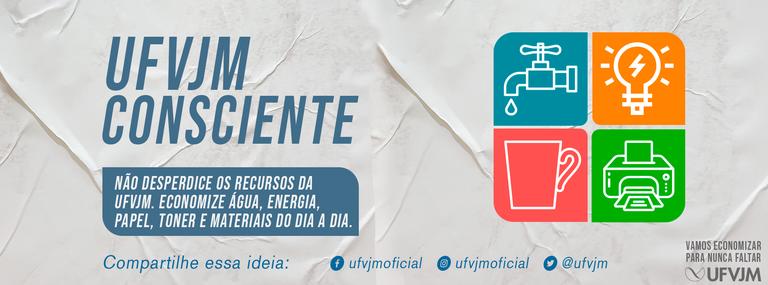 Banner Campanha UFVJM Consciente