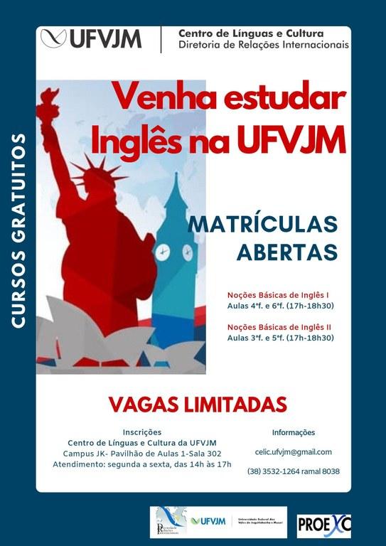 cursos gratuitos de Inglês