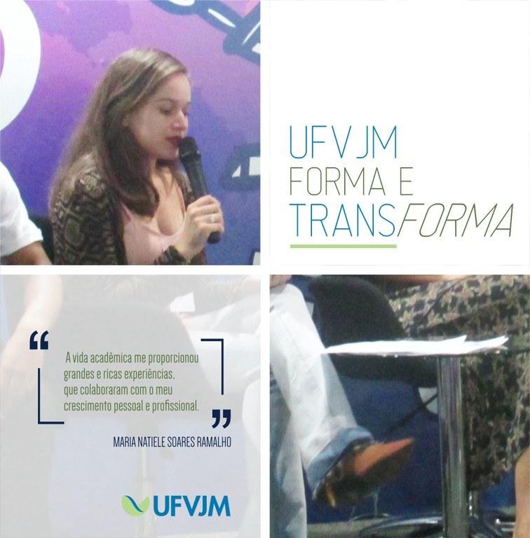 UFVJM Forma e Transforma - Maria