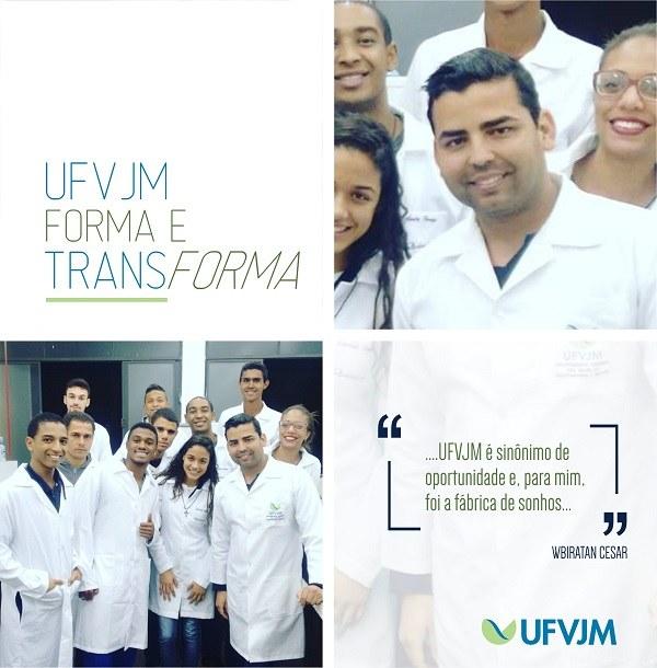 UFVJM forma e transforma