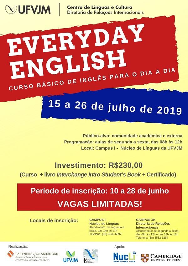 Everyday English - UFVJM