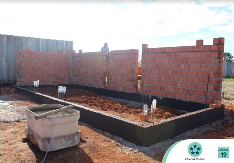 UFVJM realiza obras para eletrificação do Campus Unaí
