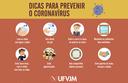 Dicas para prevenir o coronavírus (Covid-19)