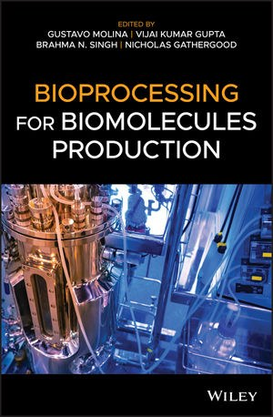 Obra Bioprocessing of Biomolecules Production - Gustavo Molina (ICT/UFVJM)