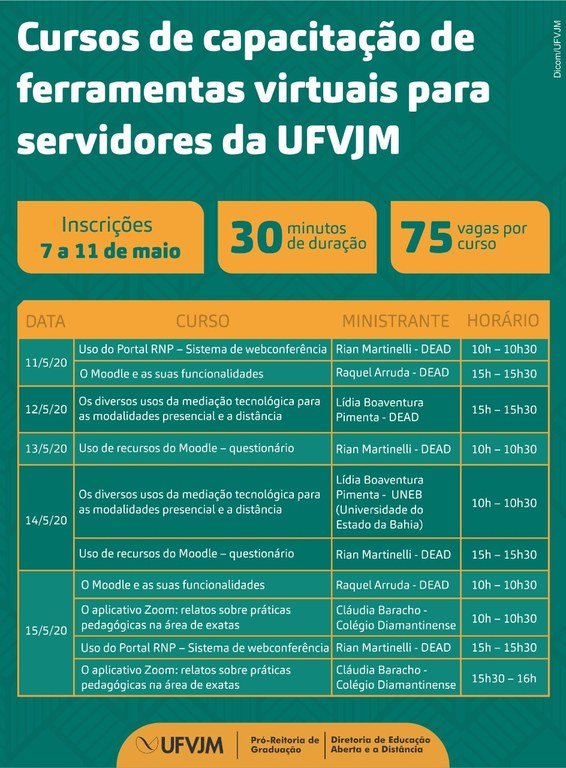 UFVJM - Cursos Dead