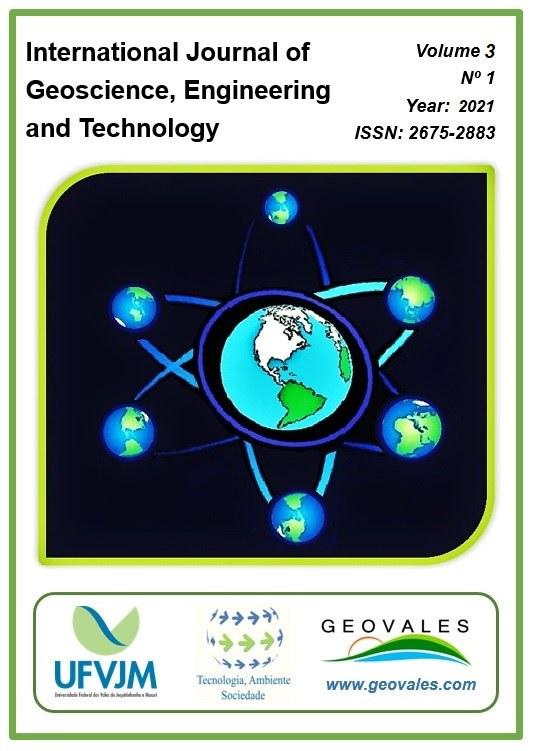 Capa da Revista International Journal of Geoscience, Engineering and Technology