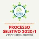 Banner processo seletivo para novos membros da EPEQ-UFVJM 2020-1