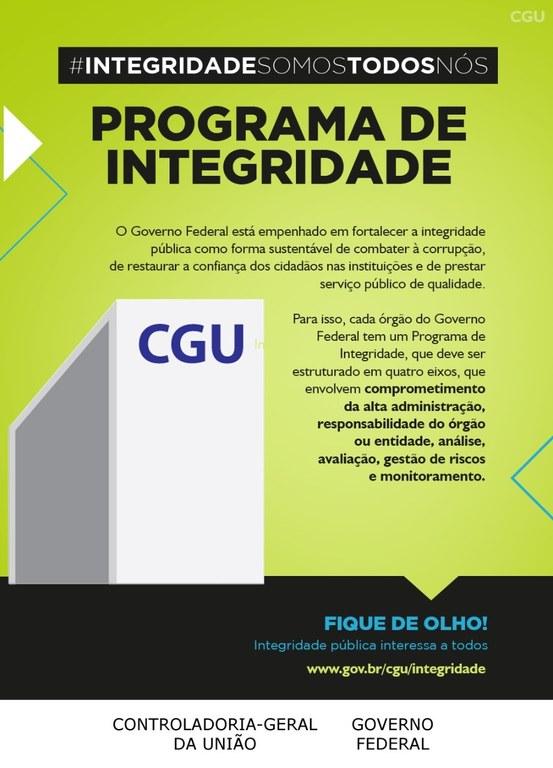 CGU realiza campanha de integridade no serviço público
