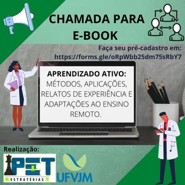 Cartaz para chamada e-book do PET Estratégias para Diminuir a Retenção e Evasão
