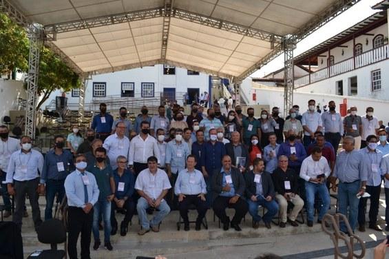 Participantes do 1º Encontro Inter-Regional do CII - AMAJE