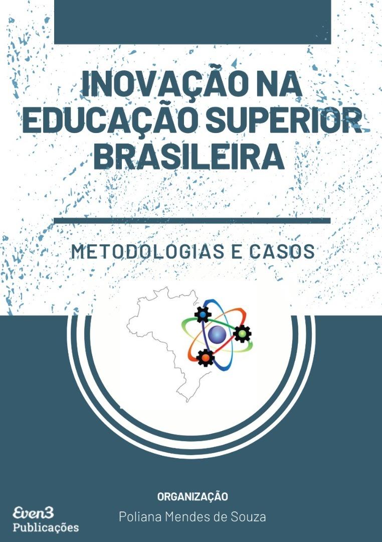 Capa do livro Inovação na Educação Superior Brasileira - metodologias e casos