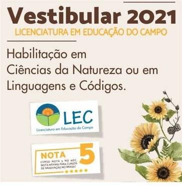 Banner campanha LEC UFVJM 2021