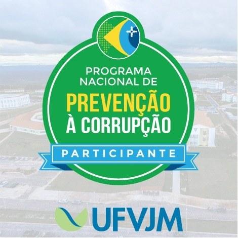 UFVJM recebe selo de participante do Programa Nacional de Prevenção à Corrupção